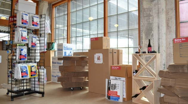 Portland moving boxes and packing supplies Rose City Self Storage & Wine Vaults